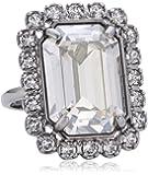 Swarovski Damen-Ring Metall Swarovski-Kristall weiß Gr.52 (16.6) 5028611