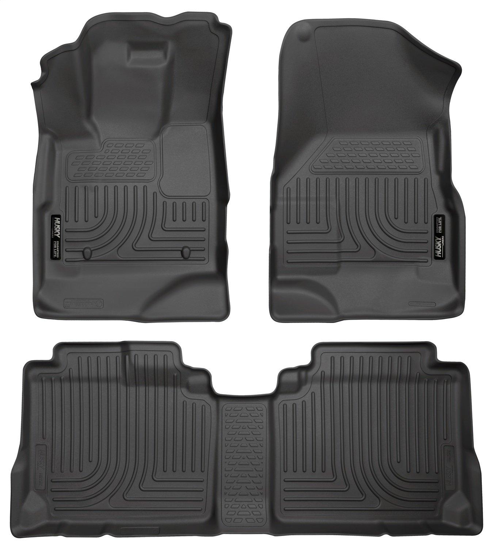 Husky Liners Front & 2nd Seat Floor Liners Fits 10-17 Equinox/Terrain 98131