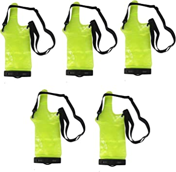 5X Waterproof Sets//Holster Case for Universal Walkie Talkie Two-Way Radio Green