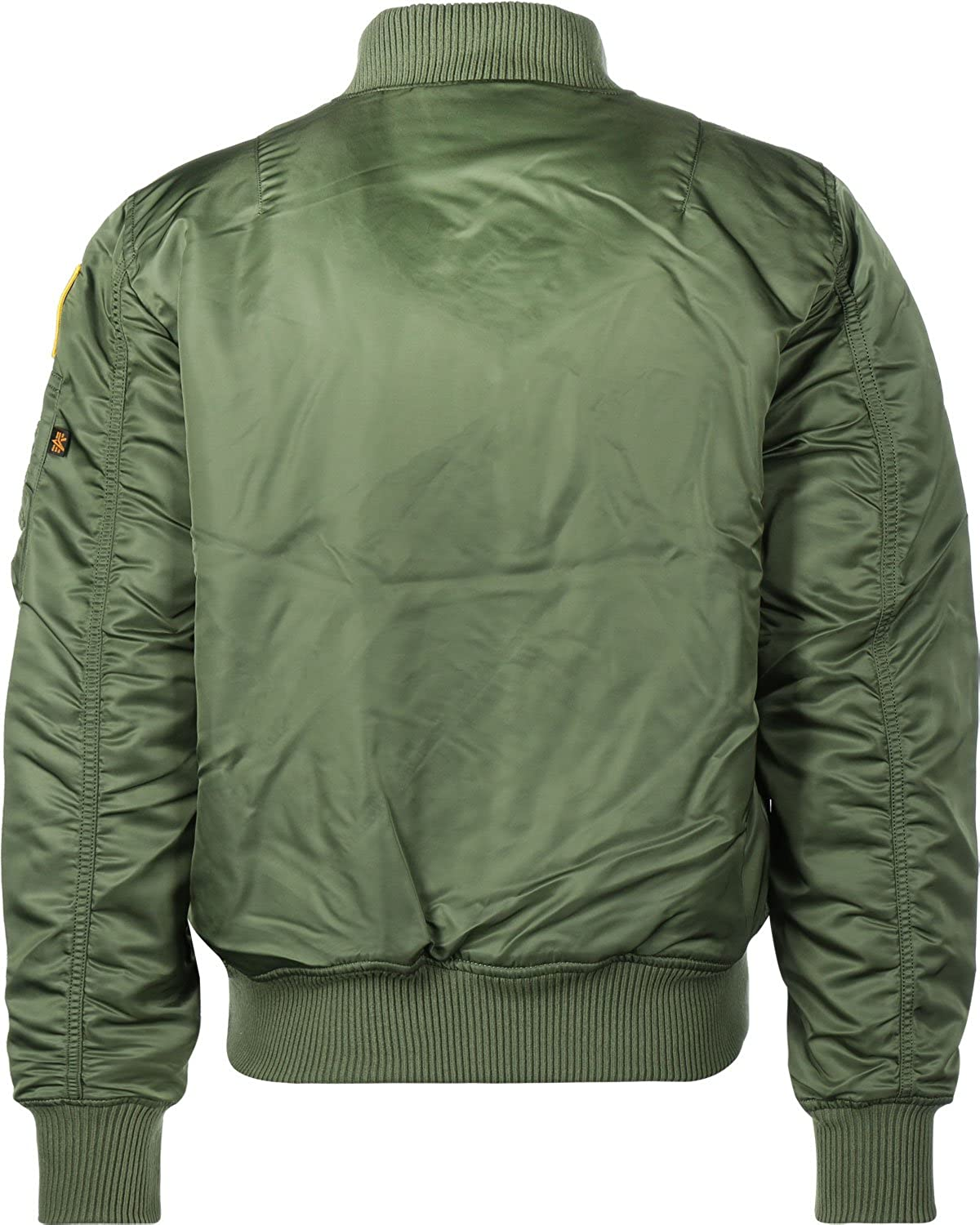 Amazon.com  Alpha Industries MA-1 VF NASA Astronaut Flight Jacket ... 553d4f6e5e9