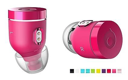 Air by crazybaby (Nano) Auriculares inalámbricos Bluetooth con cápsula de Carga