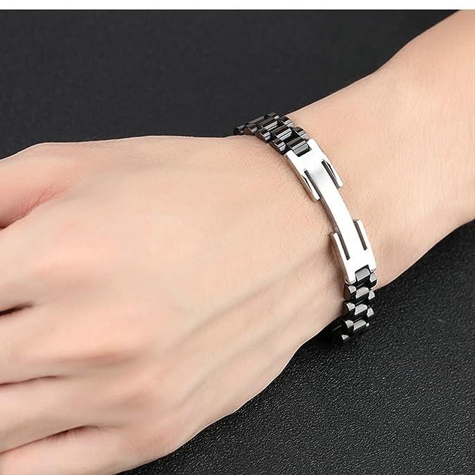 Amazon.com: Aooaz Bracelet for Men Chain Gold Chain Length ...