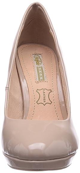 co Women's Toe Amazon Heels Buffalo P1236s H748 uk Shoes Closed 1 qU88B6