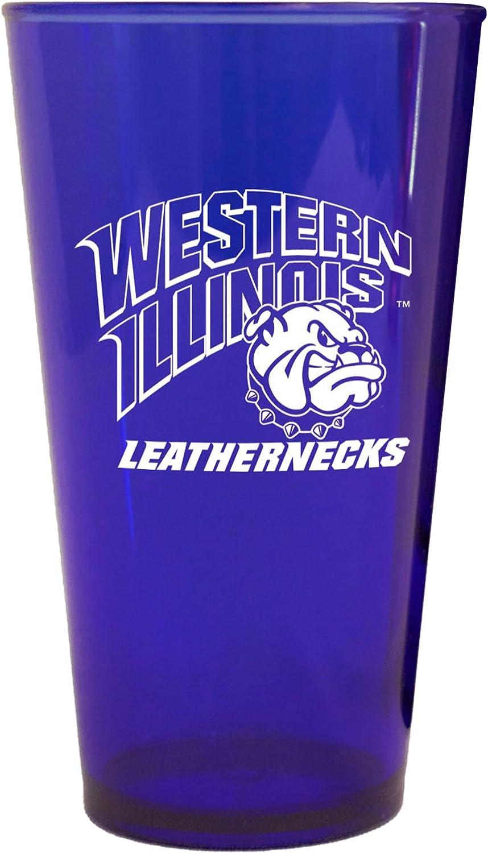 16-Ounce Boelter Brands NCAA Western Illinois Leathernecks Plastic Pint