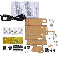 WINGONEER® 4 dígitos DIY LED reloj electrónico kit