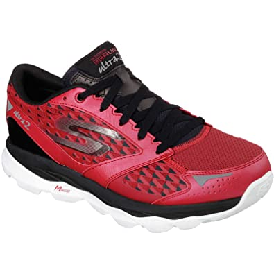 a0878197f8e37 Skechers 53918 Sport shoes Man Rosso 42½: Amazon.co.uk: Shoes & Bags