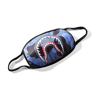sissiren Unisex Haizähne Mundschutz Maske Kälteschutz Gesichtsmaske