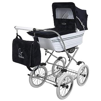 Amazon.com: carriola retro-r2-white-dark azul: Baby