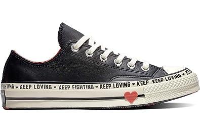 a32ac1d4de Converse Chuck 70 OX Mens Fashion-Sneakers 563473C_6 - Black/Sedona  RED/EGRET