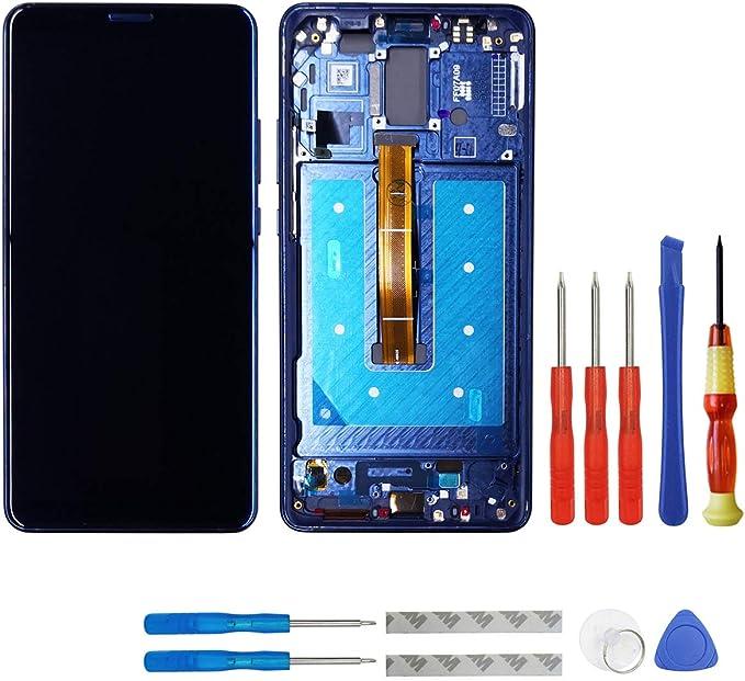 Pantalla OLED Compatible con Huawei Mate 10 Pro BLA-L09 BLA-L29 BLA-A09, Pantalla táctil LCD con Marco y Herramientas (Azul): Amazon.es: Electrónica