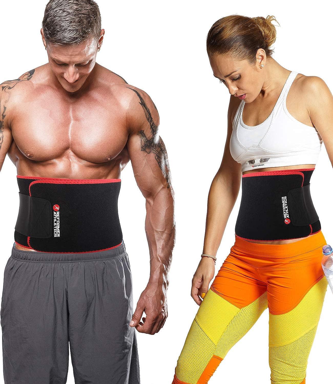 Neoprene Waist Trimmer Sweat Trainer Corset Belt Neoprene Stomach Wrap Exercise Workout Fitness