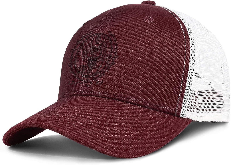 HIRGOEE Unisex Mens Womens Caps Cool Hat Workout Cap