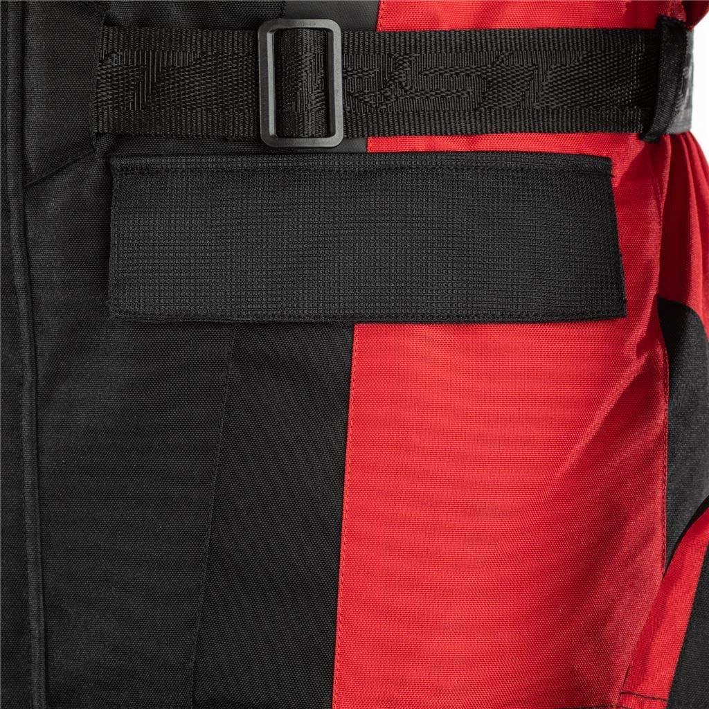 RST Alpha 4 CE Black Red Textile Motorcycle Jacket Size UK44,EU54,L