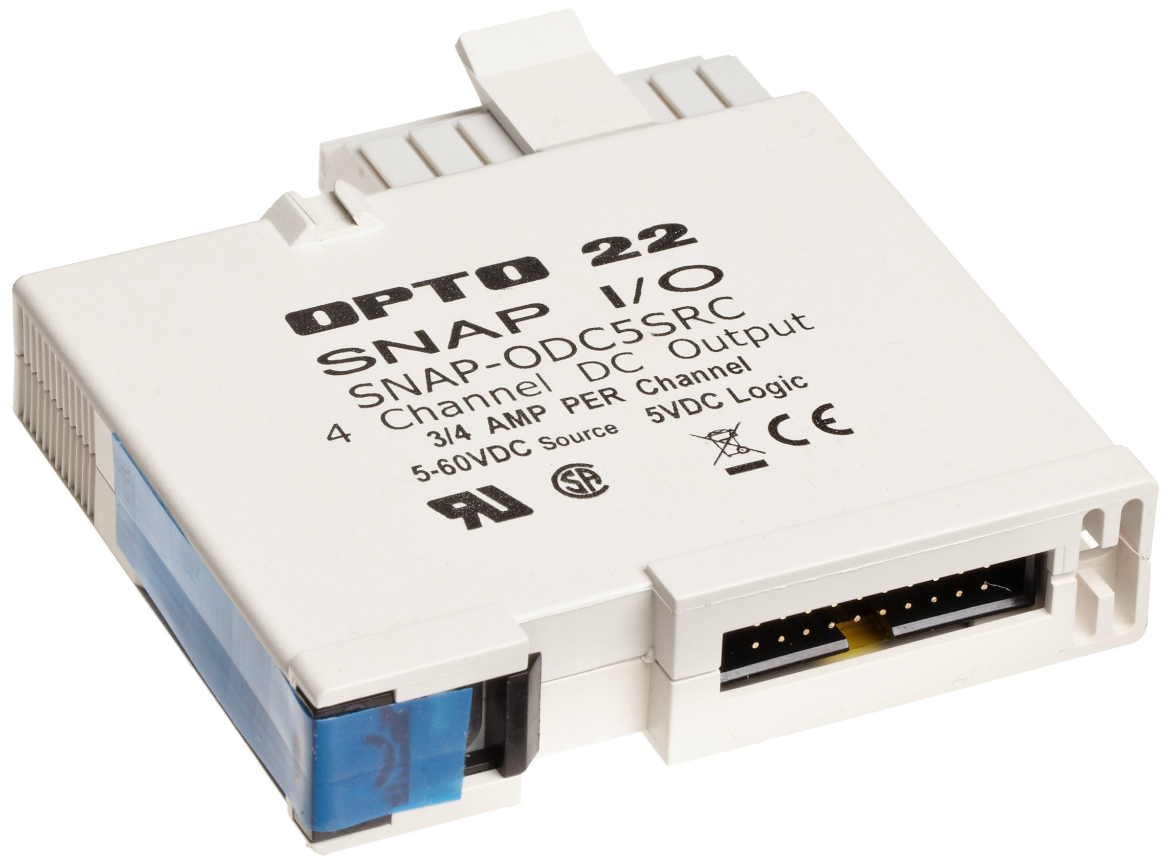 Opto 22 SNAP-ODC5SRC - SNAP Digital (Discrete) Output Module, Load Sourcing, 4-Channel, 5-60 VDC by Opto 22 (Image #1)