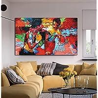 Modern Movie poster Boxing sport design tela HD stampa artistica da parete per sala da pranzo Rocky VS Apollo Picture Decor opere d' arte pronto da appendere