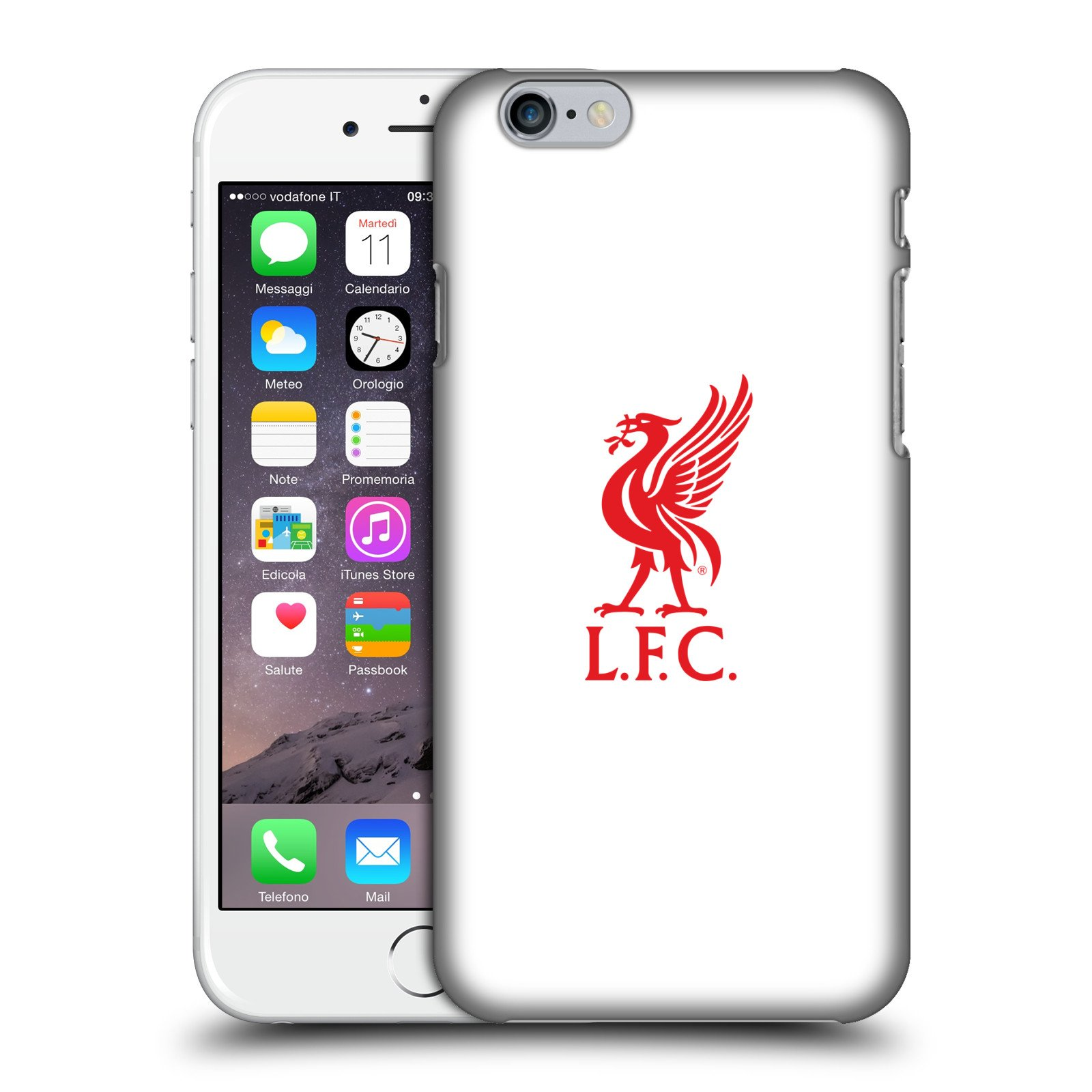 Liverpool Calendario.Amazon Com Official Liverpool Fc Lfc Red Logo On White