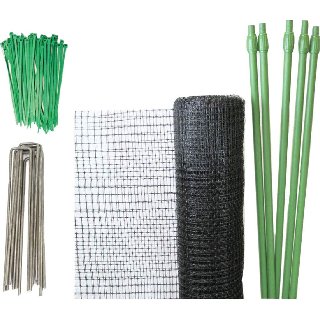 Do-It-Yourself Deer Net Kit Black 7 x 100 ft.