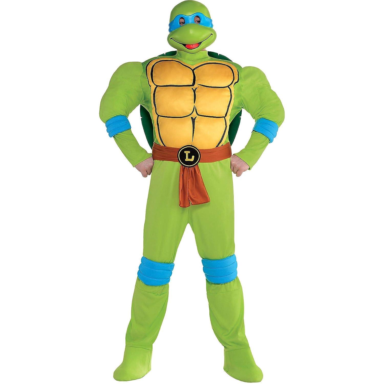 Amazon.com: Amscan - Disfraz para hombre, diseño de tortugas ...