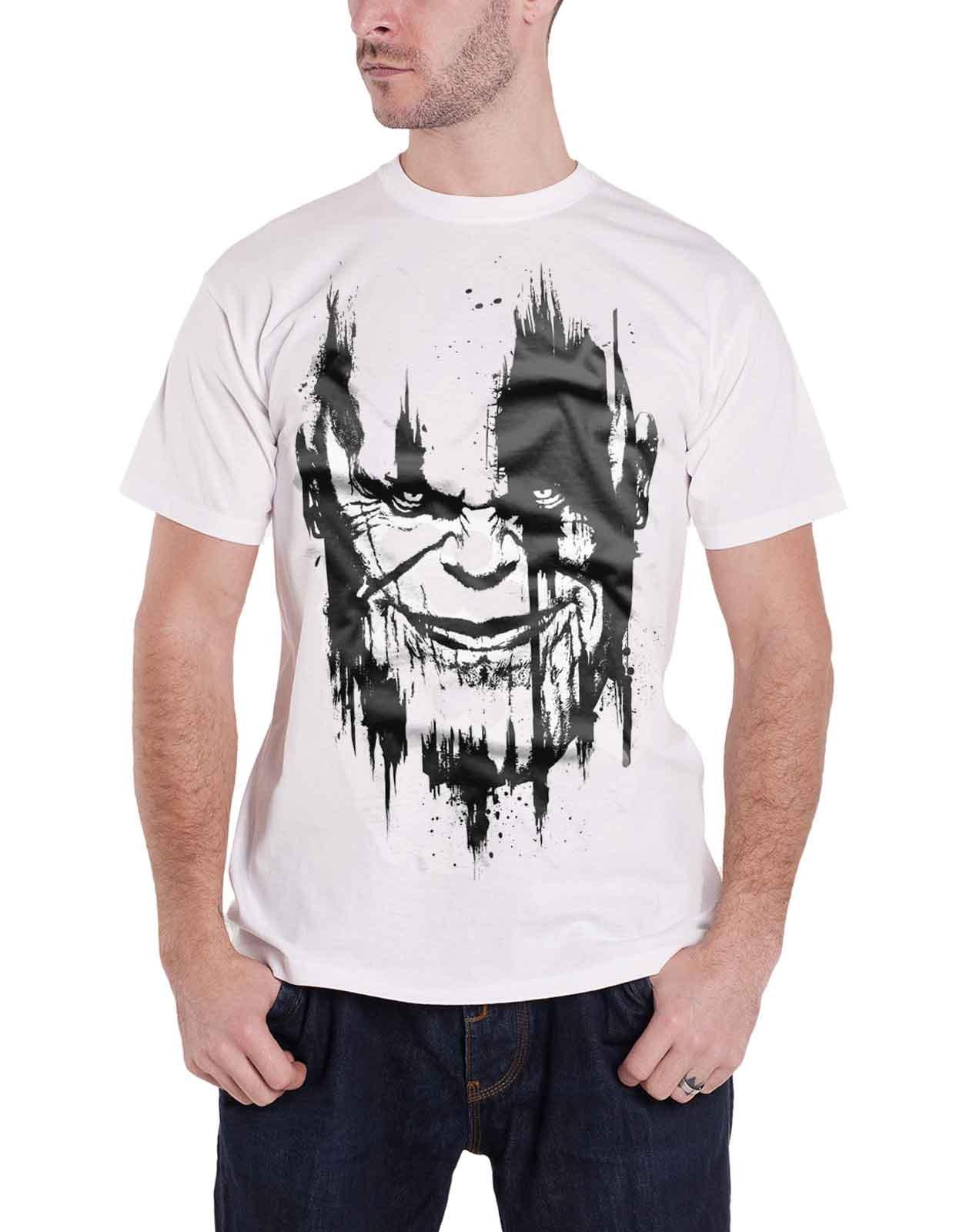 Infinity War T Shirt Infinity War Face S 2769