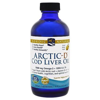 Nordic Naturals - Ártico-D bacalao aceite de hígado con vitamina D limón - 8