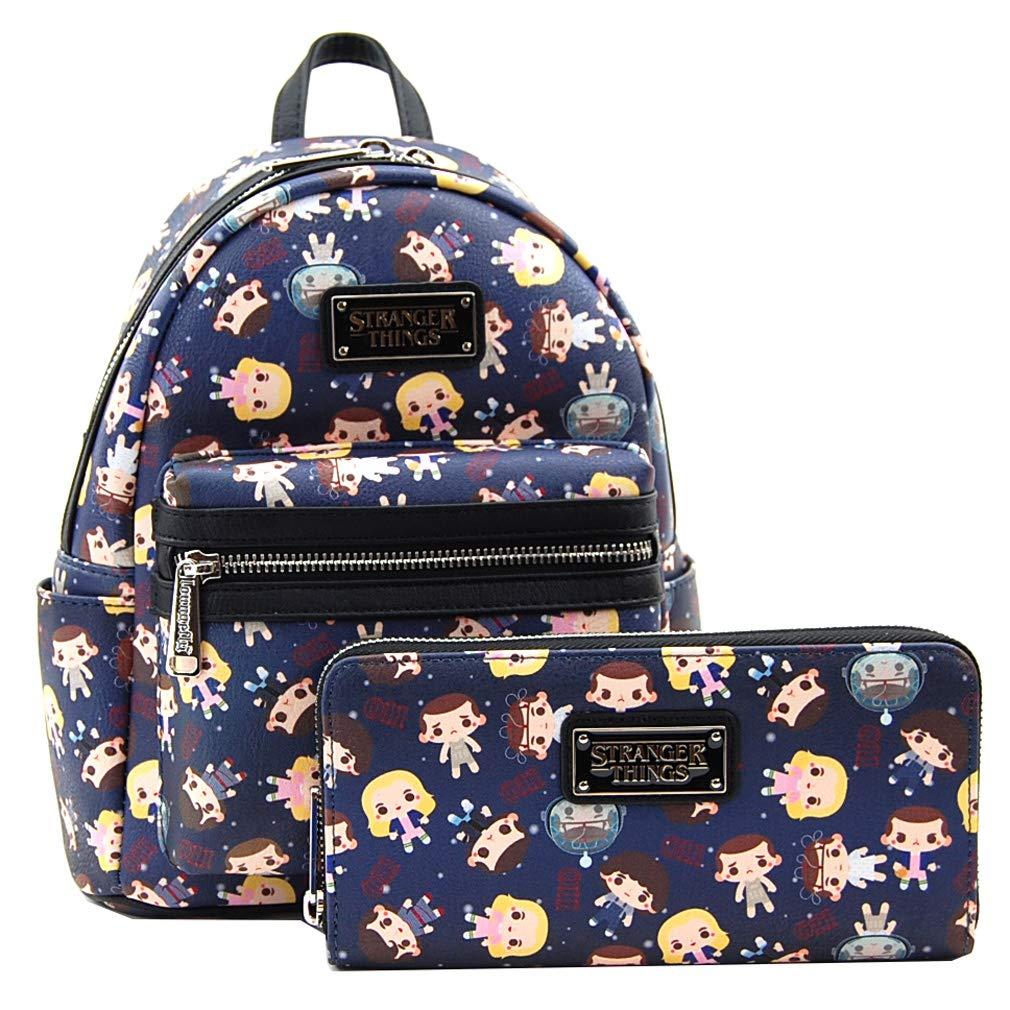 Amazon com | Loungefly Stranger Things Eleven Mini Backpack