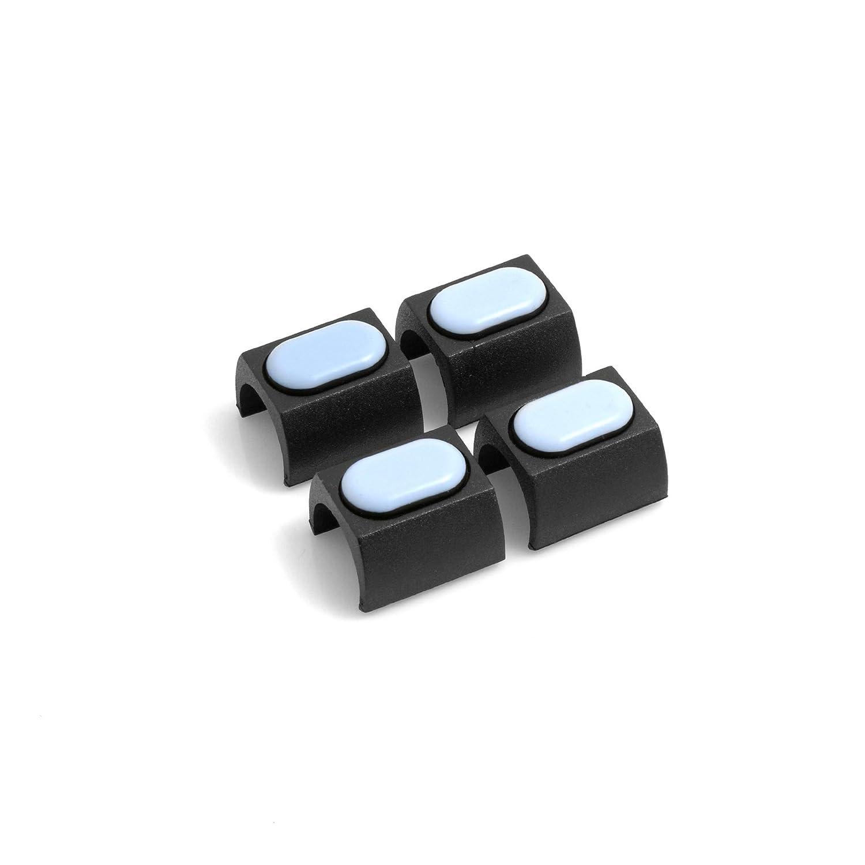 design61/PTFE Lot de 4/pour chaise cantilever Patins schong /échelle pour tube rond de /Ø 16 17/mm Meubles patins Patins Coque de serrage serrage