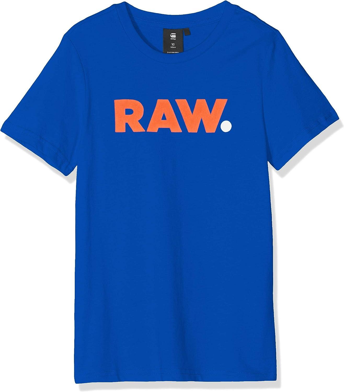 G-STAR RAW Jungen Sp10026 Ss Tee T-Shirt