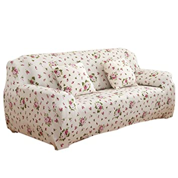 Amazon De Homyl Universal Landhaus Stretch Sofabezuge Sofahusse