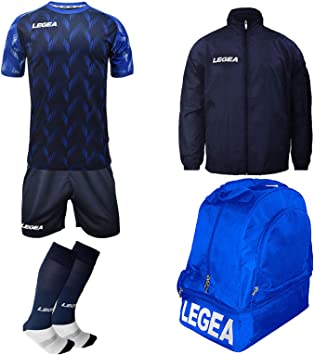 LEGEA - Kit de Rutina + calcetín + Bolsa y K-Way - Futbolín de ...