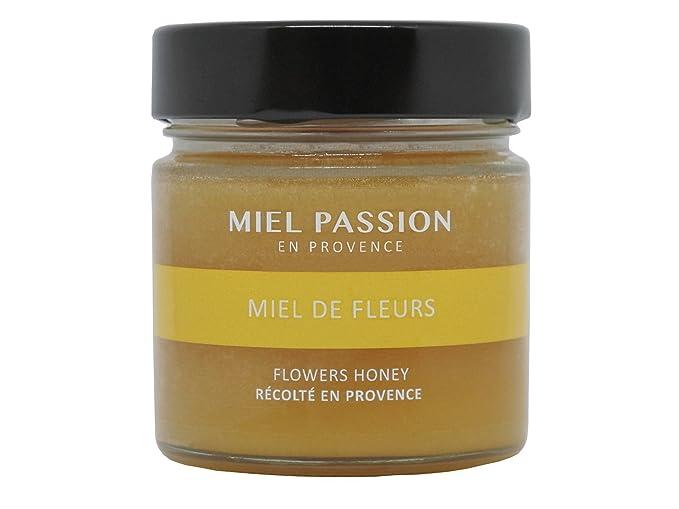 MIEL PASSION Miel de Flores, miel de Francia cosechada en Provenza - Lote de 3