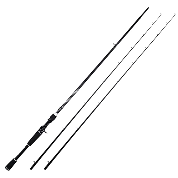 KastKing Perigee II Fishing Rods - Fuji O-Ring Line Guides, 24 Ton Carbon Fiber Casting and Spinning Rods - Two Piece Twin-Tip Rods and One Piece Rods