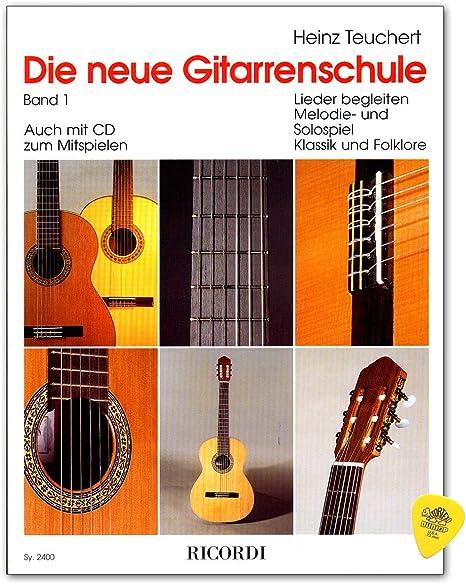 Heinz Teuchert Band 1 - Escuela de guitarra, con plek, pasos de ...
