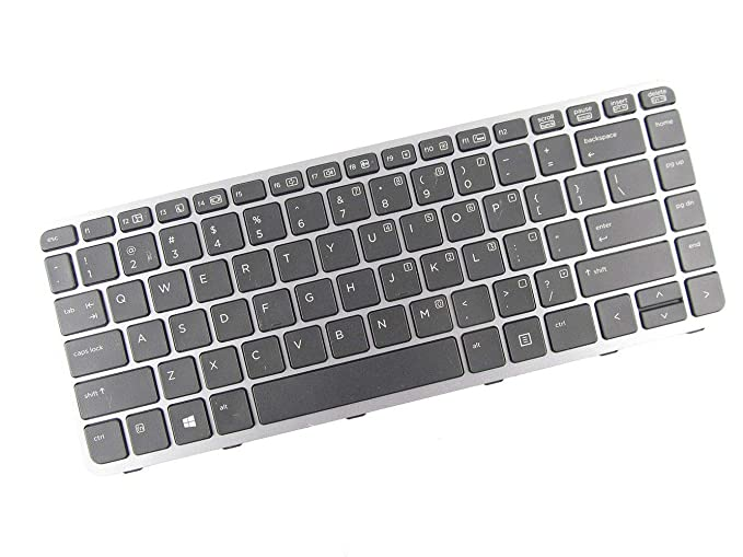 Amazon.com: KinFor Product,Keyboard for HP elitebook Folio 1000 1040 G1 US Teclado Backlit Frame + Clear Protector Cover: Computers & Accessories