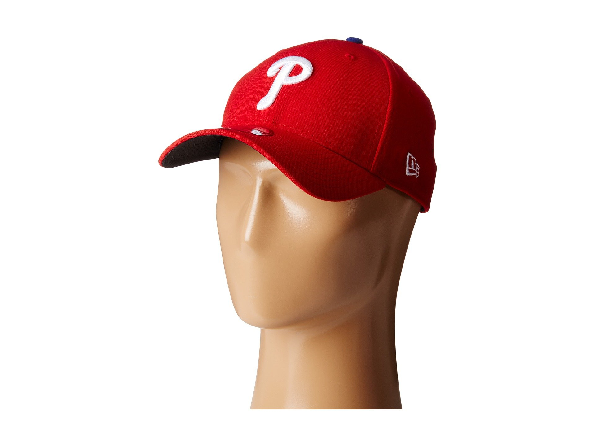 MLB Philadelphia Phillies Team Classic Game 39Thirty Stretch Fit Cap, Red, Large/X-Large