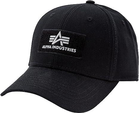 178905 schwarze Baseballcap Kappe Mütze ALPHA INDUSTRIES VLC Cap IIBlack 03