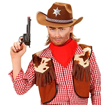 Net Toys Kinder Sheriff Hut Cowboyhut Fasching Cowboy Ranger Western