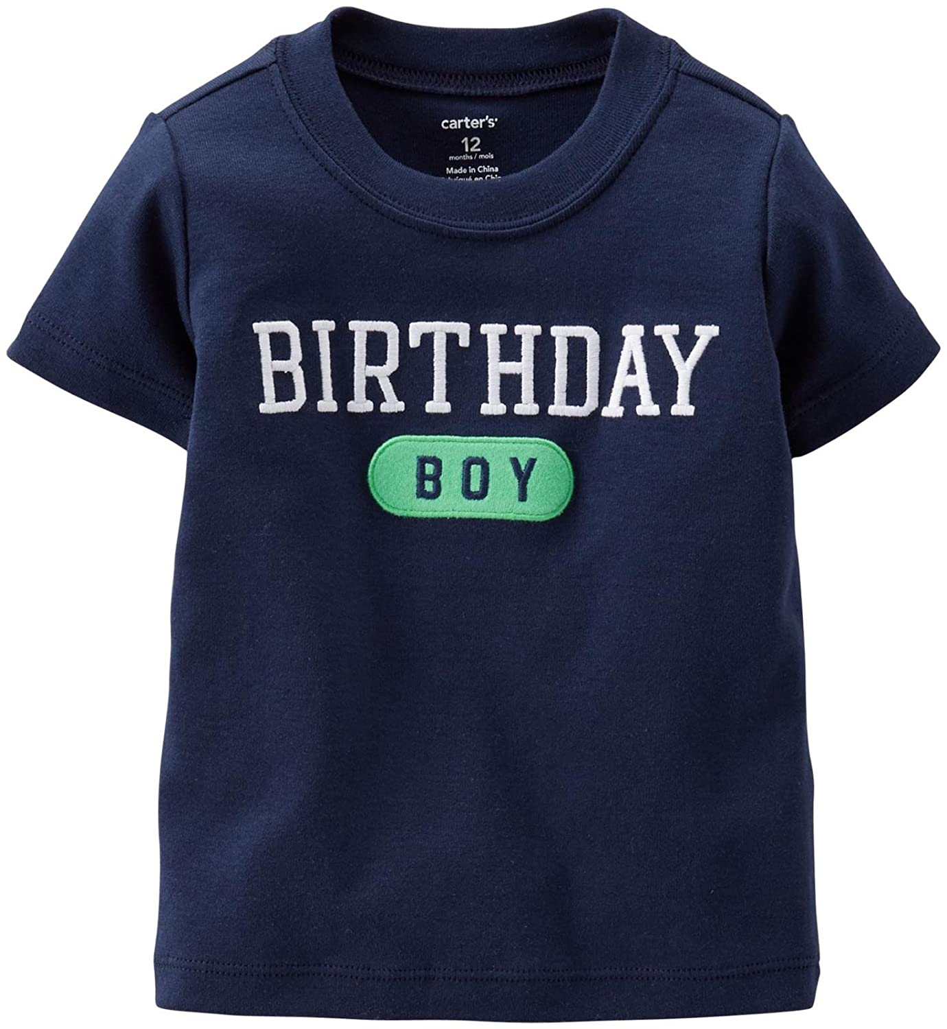 【激安】 Carter's Months SHIRT ベビーボーイズ 9 Months Birthday SHIRT Boy Birthday B00SD1RSSU, ウィンズショップ:c207dd4d --- a0267596.xsph.ru