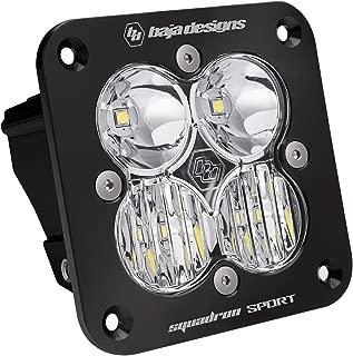 product image for Baja Designs Squadron Sport Flush Mount UTV LED Light Driving Combo Pattern