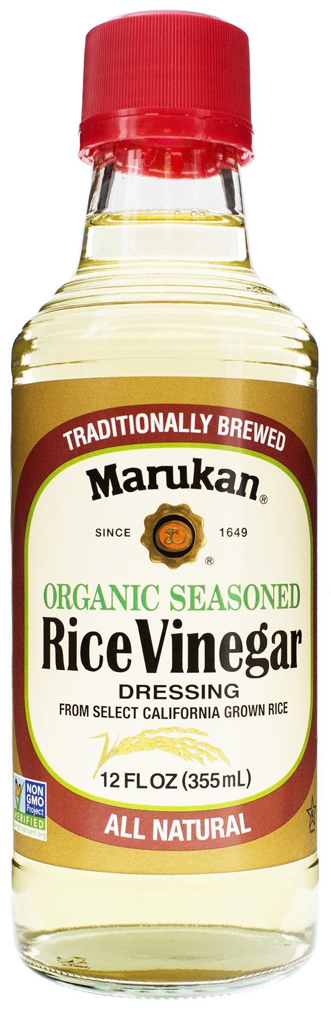 Marukan Seasoned Gourmet Rice Vinegar Dressing, 12 fl oz