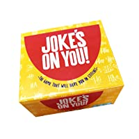 Jokes On You: Party Game of Mad-Lib Competitive Joke Writing - Funny and Hilarious - Creative and Witty Party Game