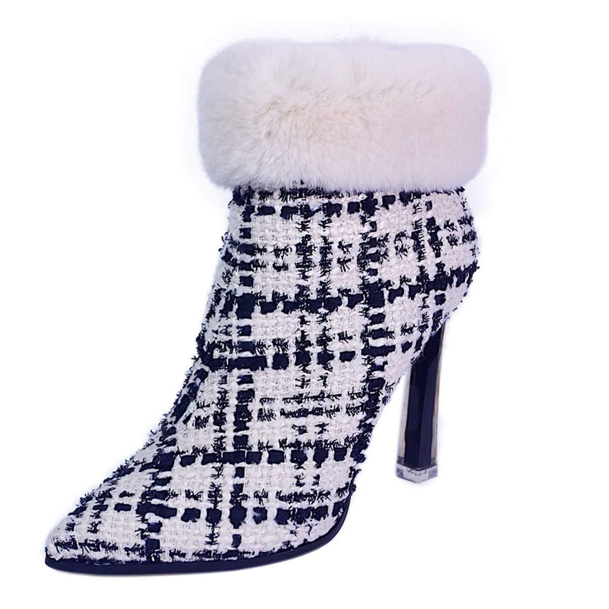 GTVERNH Schuhe Frauen Schuhe GTVERNH Hochhackigen Schuhe Mode Hat Kurze Stiefel Schuhe Mode 10Cm Gut Bei Frauen Schuhe Schuhe. 879985