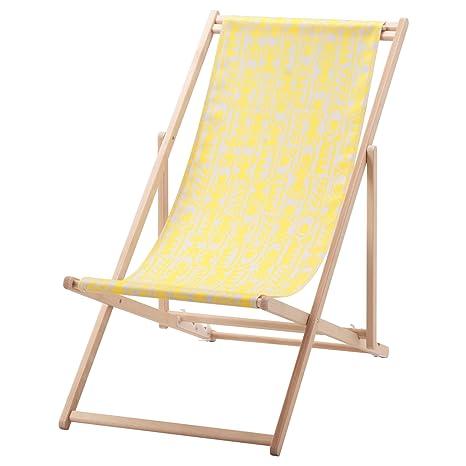 IKEA MYSINGSO - silla de playa amarilla