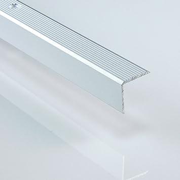 Perfil de aluminio escalera, L 1000 mm de largo – diferentes tamaños y colores: Amazon.es: Bricolaje y herramientas
