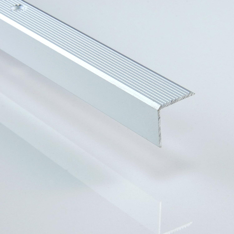 Winkelma/ße: 20 x 20 1 x ALU PROFIL -L- Winkelprofil DQ-PP Farbe: sahara L/änge: 100cm Treppenkanten Winkelprofil Treppenwinkelprofil Treppenprofil Treppenkantenprofil NEU