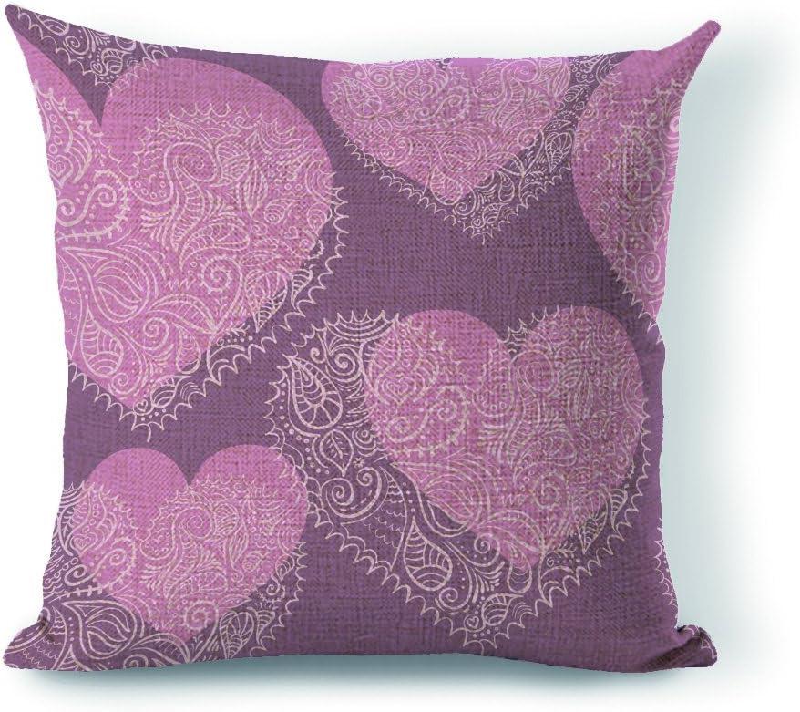 Yohoba Pillow Cover Heart Ornament