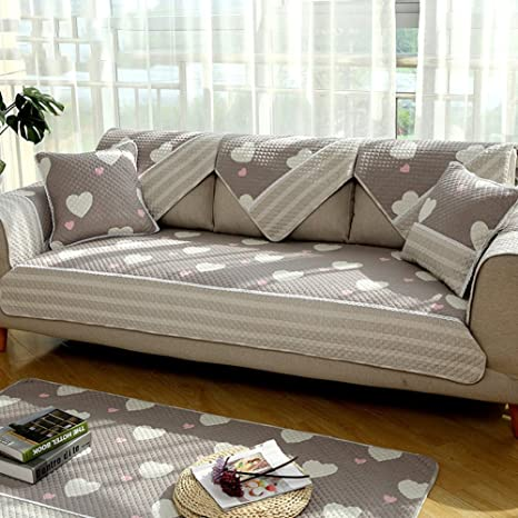 Sensational Amazon Com Tywj Cotton Couch Covers Slip Sofa Cover Stain Caraccident5 Cool Chair Designs And Ideas Caraccident5Info