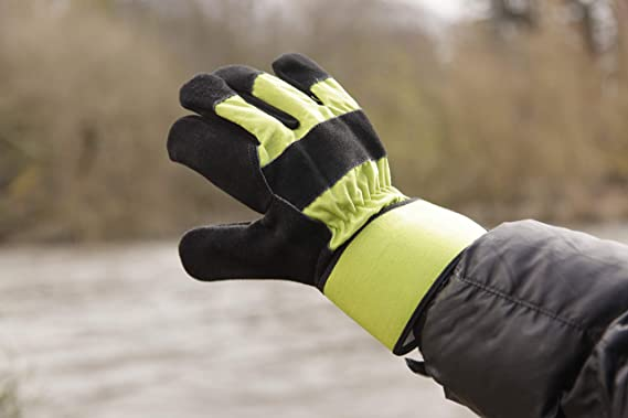 Spear /& Jackson Kew Gardens Thermal Lined Rigger Gloves-Large Green