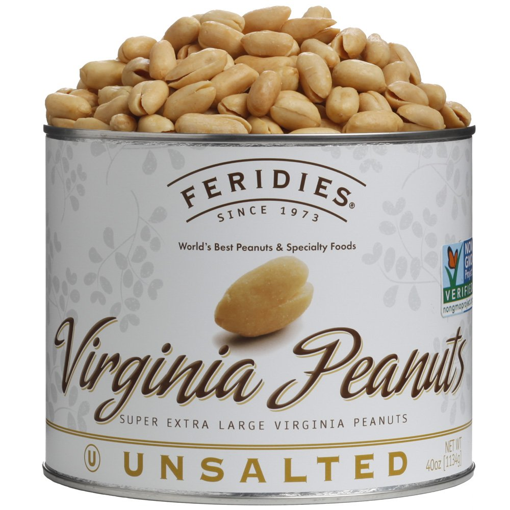 4 Pack-40oz Can Unsalted Virginia Peanuts 71jkDN6GO0L