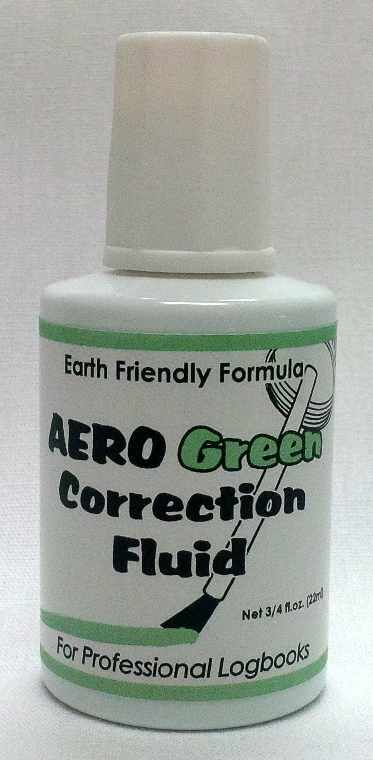 AeroGreen Professional Logbook Correction Fluid by Aero Phoenix by Aero Phoenix (Image #1)