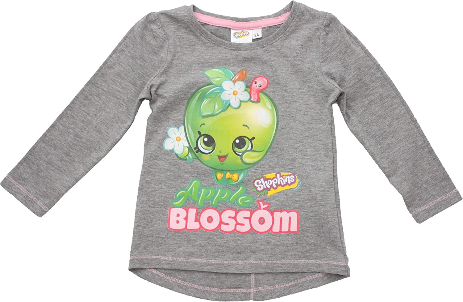 453603896c1 Top1  Shopkins Apple Blossom   Pop Star Long Sleeve T Shirt